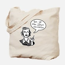 Rude Funny #1 Mom Mother's Day Tote Bag