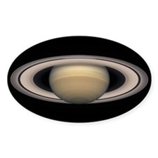 Saturn's Rings Oval Decal