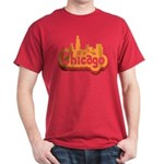 Retro Chicago Dark T-Shirt