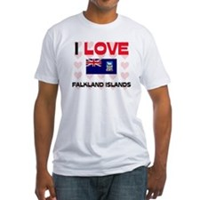 I Love Falkland Islands Shirt