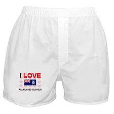 I Love Falkland Islands Boxer Shorts