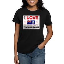 I Love Falkland Islands Tee