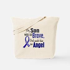 Angel 1 SON Colon Cancer Tote Bag
