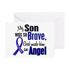 Angel 1 SON Colon Cancer Greeting Card