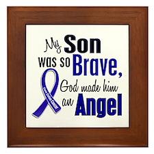 Angel 1 SON Colon Cancer Framed Tile