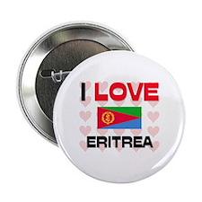 """I Love Eritrea 2.25"""" Button"""