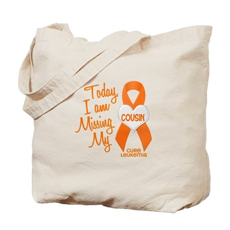 Missing My Cousin 1 LEUKEMIA Tote Bag