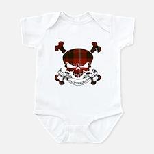Cunningham Tartan Skull Infant Bodysuit