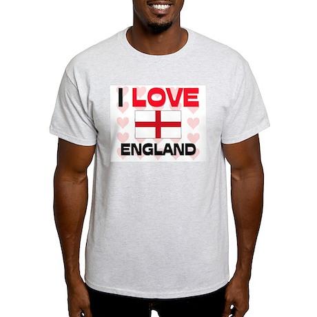 I Love England Light T-Shirt