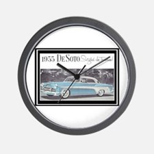 """1955 DeSoto Ad"" Wall Clock"