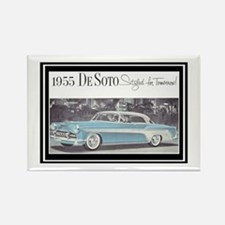 """1955 DeSoto Ad"" Rectangle Magnet"