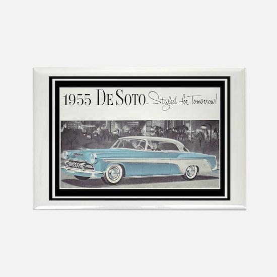 """1955 DeSoto Ad"" Rectangle Magnet"
