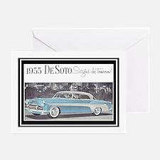 """1955 DeSoto Ad"" Greeting Cards (Pk of 10)"