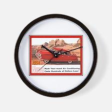 """1954 Nash Ad"" Wall Clock"
