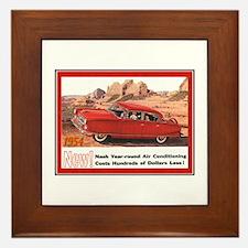 """""""1954 Nash Ad"""" Framed Tile"""
