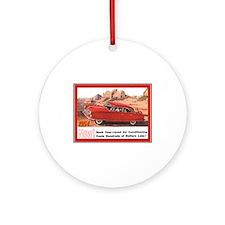 """""""1954 Nash Ad"""" Ornament (Round)"""