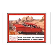 """""""1954 Nash Ad"""" Postcards (Package of 8)"""