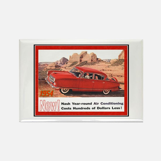 """1954 Nash Ad"" Rectangle Magnet"