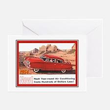 """1954 Nash Ad"" Greeting Cards (Pk of 10)"
