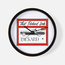 """1954 Packard Ad"" Wall Clock"