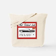 """1954 Packard Ad"" Tote Bag"