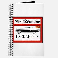 """""""1954 Packard Ad"""" Journal"""
