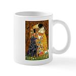 Kiss / Flat Coated Retriever Mug