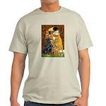 Kiss / Flat Coated Retriever Light T-Shirt
