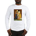 Kiss / Flat Coated Retriever Long Sleeve T-Shirt