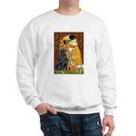 Kiss / Flat Coated Retriever Sweatshirt