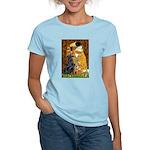 Kiss / Flat Coated Retriever Women's Light T-Shirt