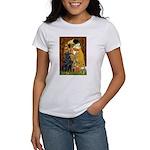 Kiss / Flat Coated Retriever Women's T-Shirt