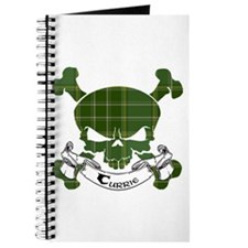 Currie Tartan Skull Journal