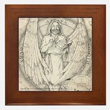 Archangel Azrael Framed Tile
