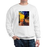 Cafe / Flat Coated Retriever Sweatshirt