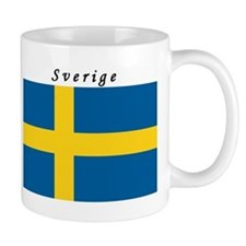 Swedish Flag Small Small Mug