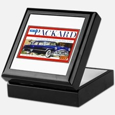 """1953 Packard Ad"" Keepsake Box"