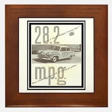 """""""1953 Henry J Ad"""" Framed Tile"""