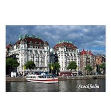 Stockholm Postcards (Package of 8)