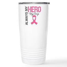 AlwaysMyHero Wife Ceramic Travel Mug