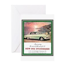 """1952 Studebaker Ad"" Greeting Card"