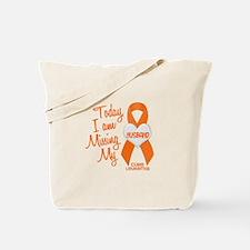 Missing My Husband 1 LEUKEMIA Tote Bag