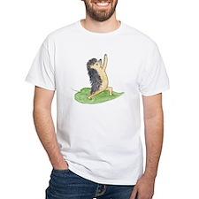 Yoga Hedgehog Warrior Leaf Shirt