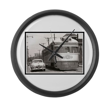 """""""Share the Road"""" Large Wall Clock"""