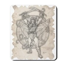 Archangel Camael Mousepad