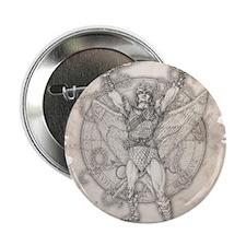 "Archangel Camael 2.25"" Button"