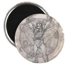 Archangel Camael Magnet