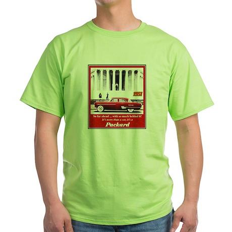 """""""1951 Packard Ad"""" Green T-Shirt"""