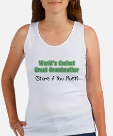 World's Coolest Great Grandmother Women's Tank Top