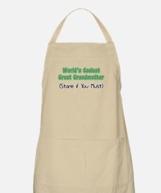 World's Coolest Great Grandmother BBQ Apron